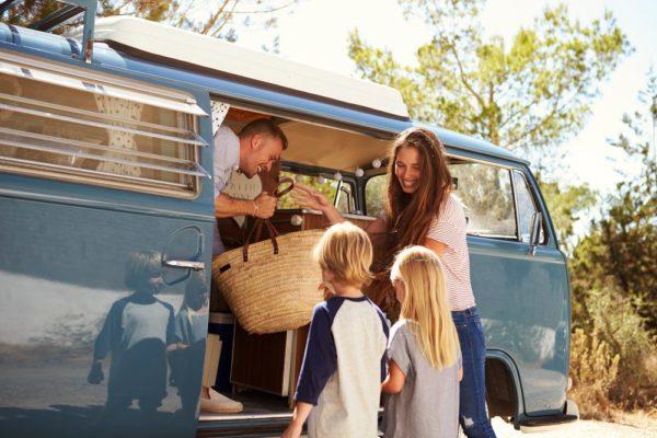 Assistenza sanitaria del camperista: in camper con i miei figli