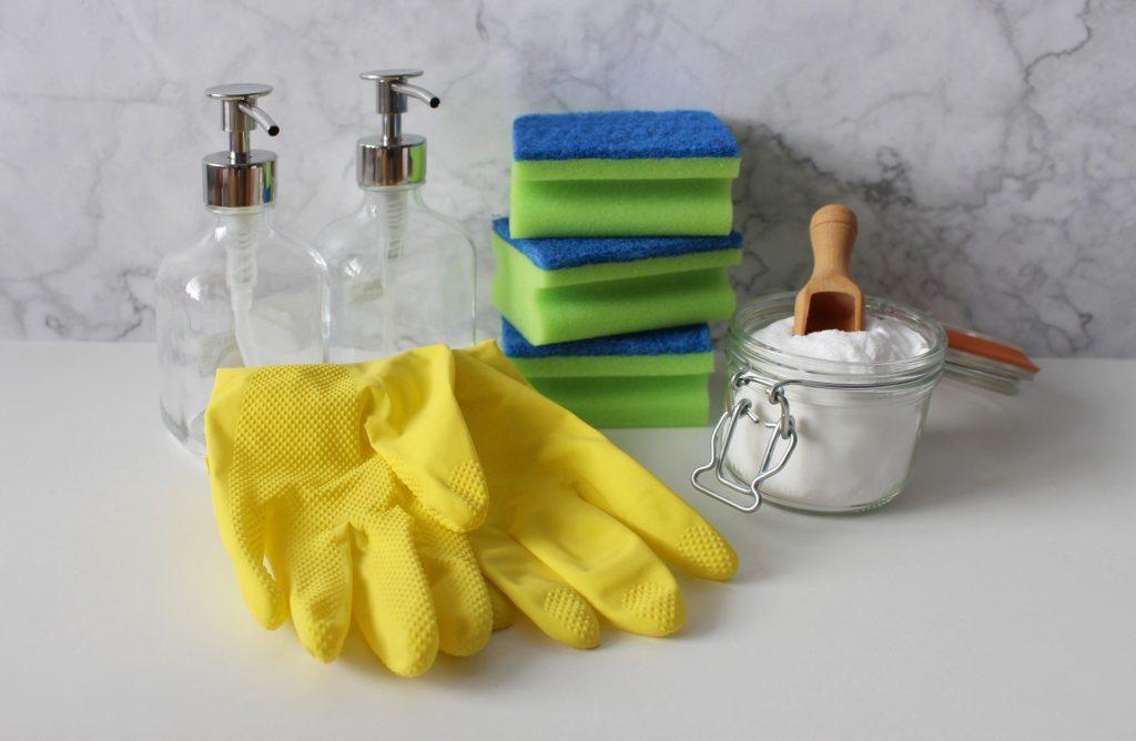 guanti pulizie