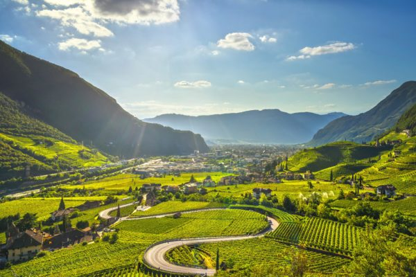 Itinerario in Alto Adige