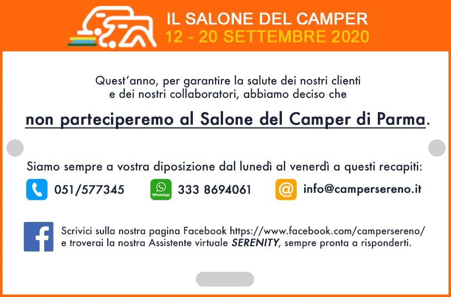 Salone del camper 2020 - Solo online