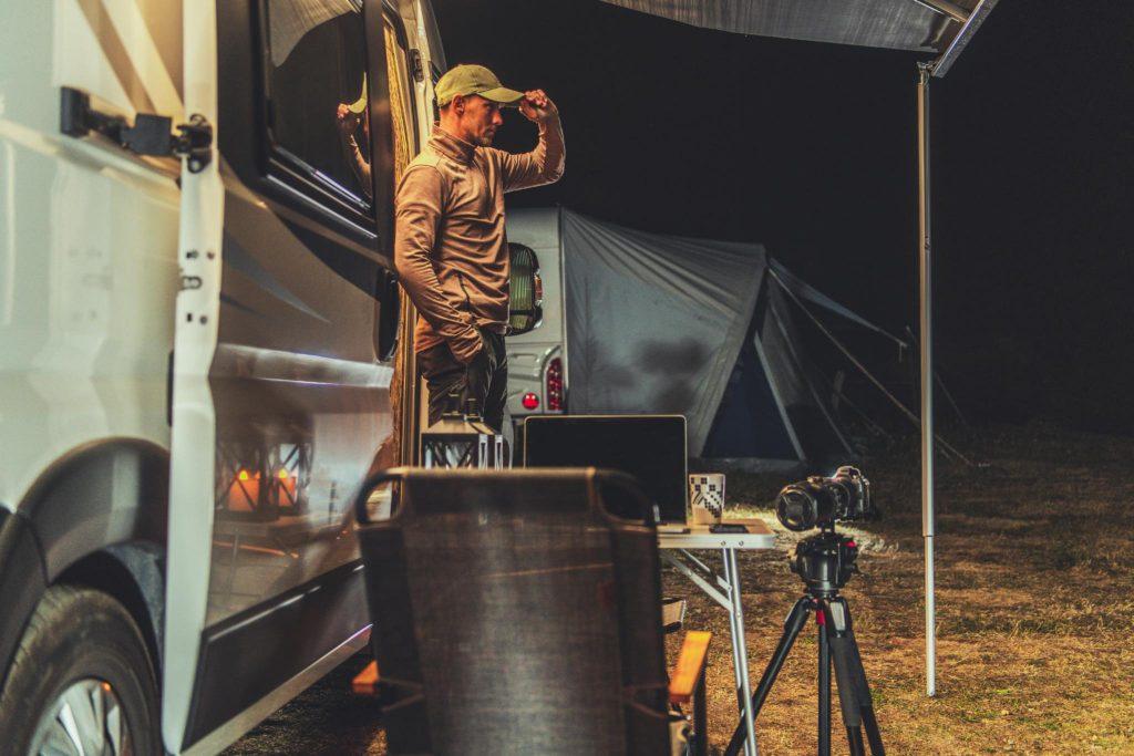 fotografare in camper